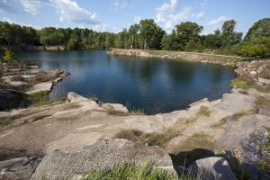 The Quarry Lake in Redgranite