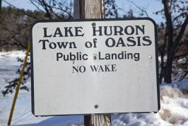 Huron Lake Pictures