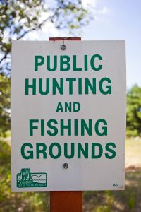 Wisconsin Public Hunting and Fishing Grounds