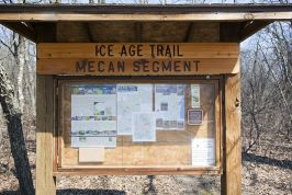 State Highway 21 Ice Age Trail Pictures