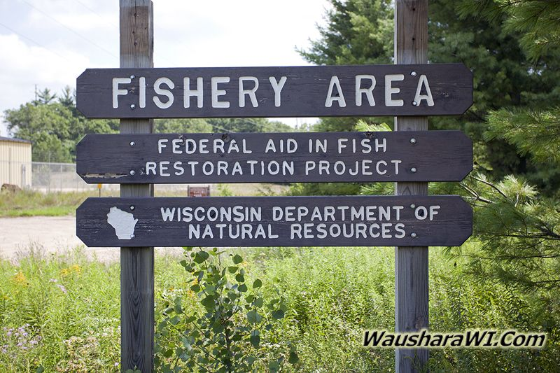 Fishery Area by Pleasant Lake WI